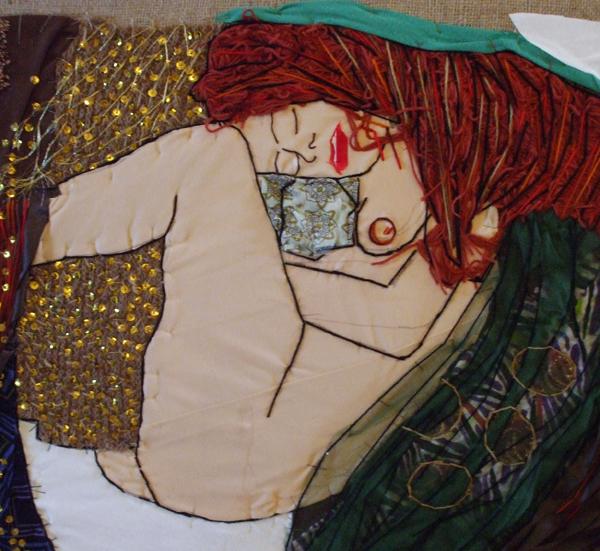 Omaggio A Danae Di Klimt