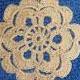 Fiore Uncinetto Beige