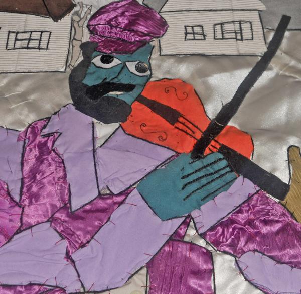 Il Violinista Omaggio A Chagall