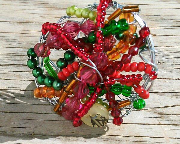 Anello Inturciuniato Multicolore