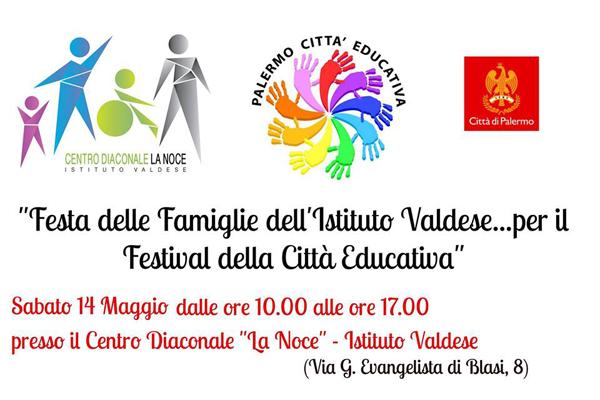 Festa Delle Famiglie All' Istituto Valdese Di Palermo