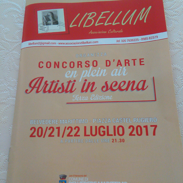 Concorso D'arte En Plein Air Artisti In Scena 2017